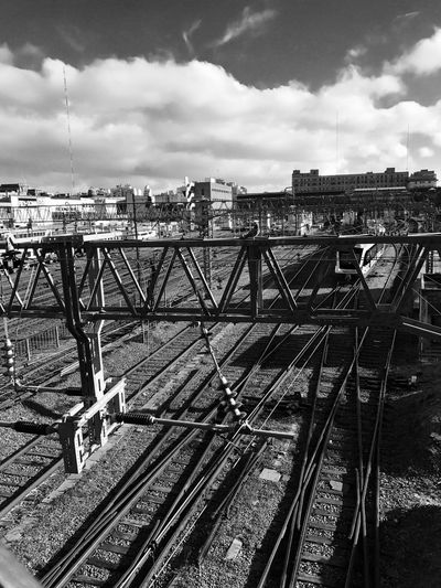 Railways Railwaystation Railways_of_our_world Railways Station Train Train Station Train Tracks Train - Vehicle Buenosaires Constitution Day Blackandwhite Black And White Black & White Black And White Photography
