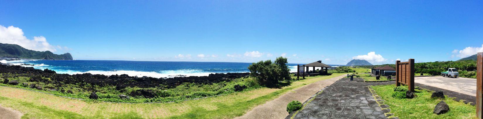 IPhone Tokyo Hachijo-island OpenEdit 八丈島 Cloud 八丈小島 Sea Blue Sky Sky