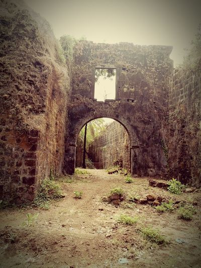 Ruined Archway Ruined Wall Ruined Castle Haunted