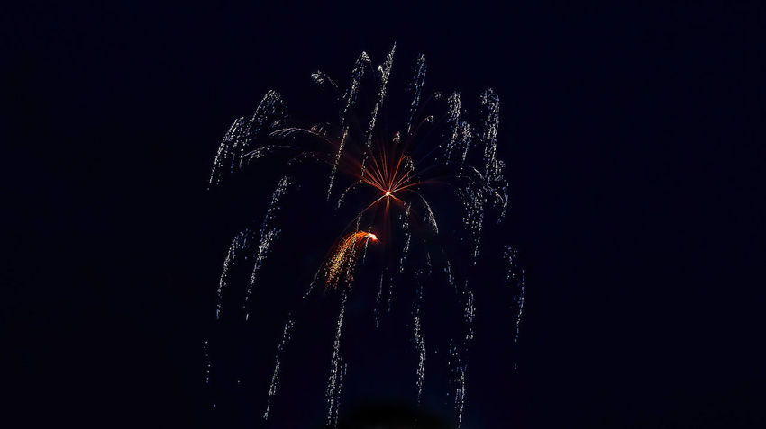 Arts Culture And Entertainment Blurred Motion Celebration Celebration Event Event Exploding Firework Firework - Man Made Object Firework Display Glowing Illuminated Light Long Exposure Low Angle View Motion Nature Night No People Outdoors Sky Sparks