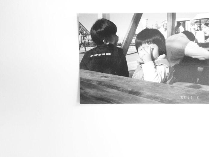 モノクロ Past Children IPhoneography