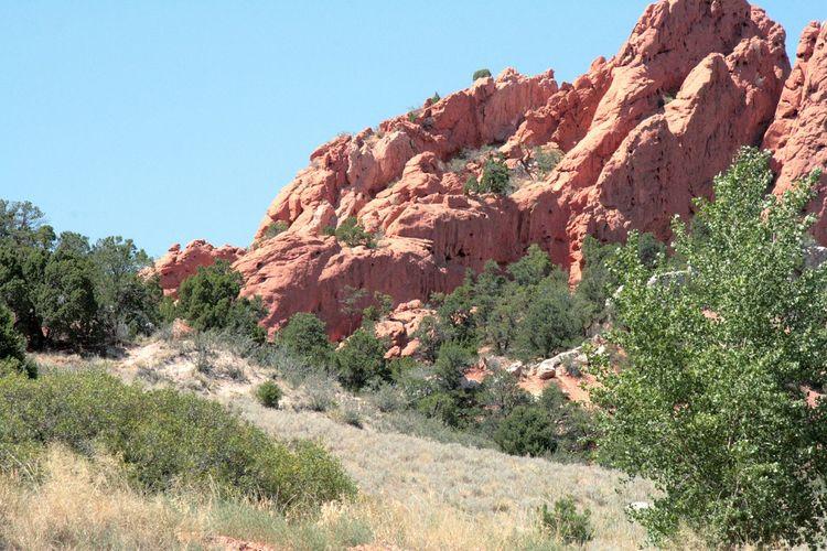 Garden Of The Gods Colorado Springs Colorado Outdoor Photography Red Rocks  Red Rocks Craggy Rocks