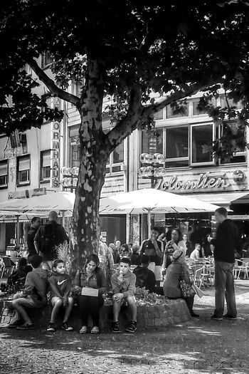 It's summer in K-Town - at least, it should be... Taking Photos Streetphoto_bw Streetphotography Blackandwhite