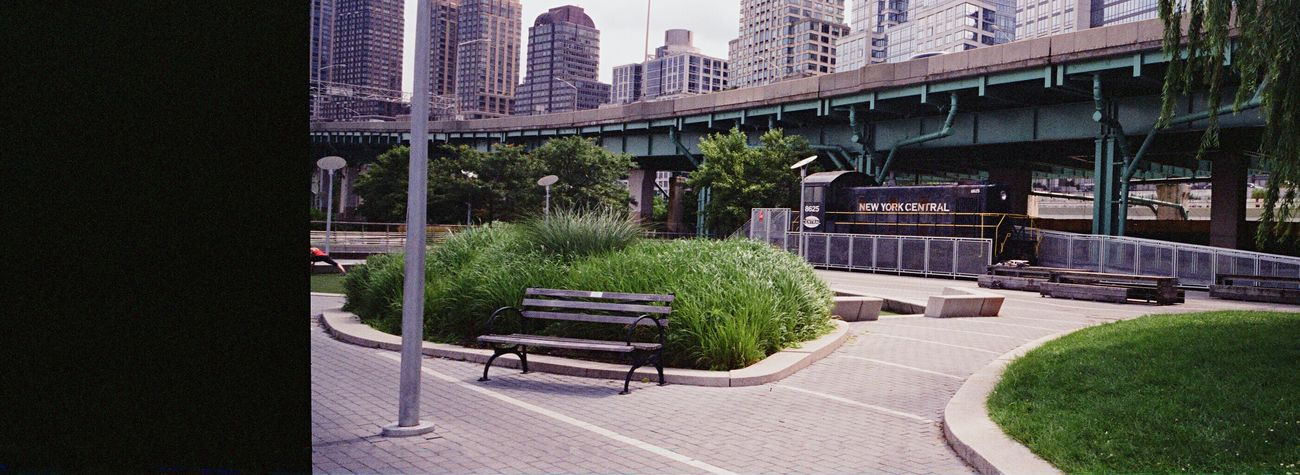 Film Koduckgirl Hasselblad XPan Xpan Outdoors New York City NYC Hudson River Park F2 400 Film Is Not Dead