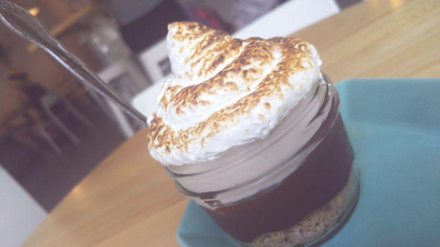 S'mores in a jar Dessert