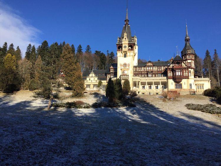 Peles Castle Castel Castle Peles Romania