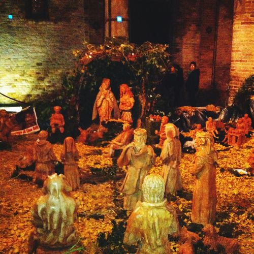 Natività nel cuore della città di Bologna