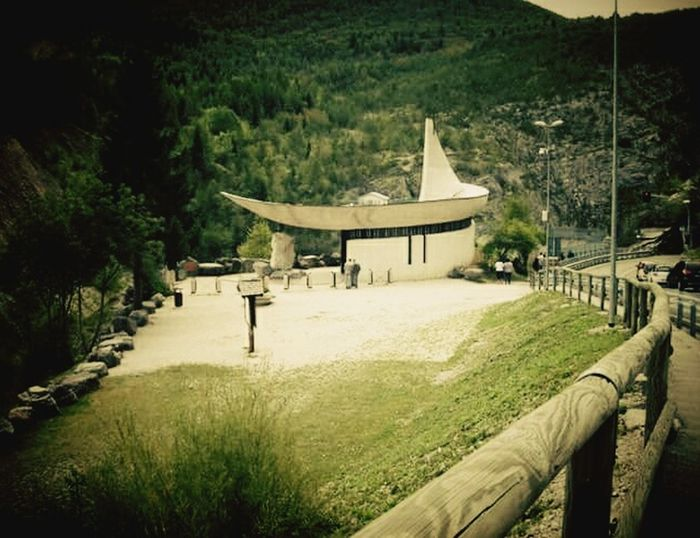 Church Chiesa Monument To The Victims Architecture No People Beauty In Nature Landscape Wonderful View EyeEm Gallery Photography Time Vajont Dam Diga Del Vajont Italy🇮🇹 Arhitecture Photography