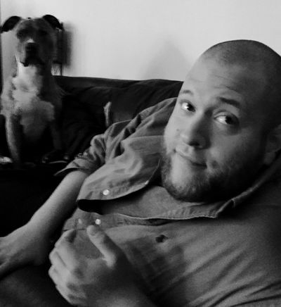 Check This Out Hanging Out That's Me Looking At Camera Young Adult Front View Animal Representation Baldness Dog Love Son