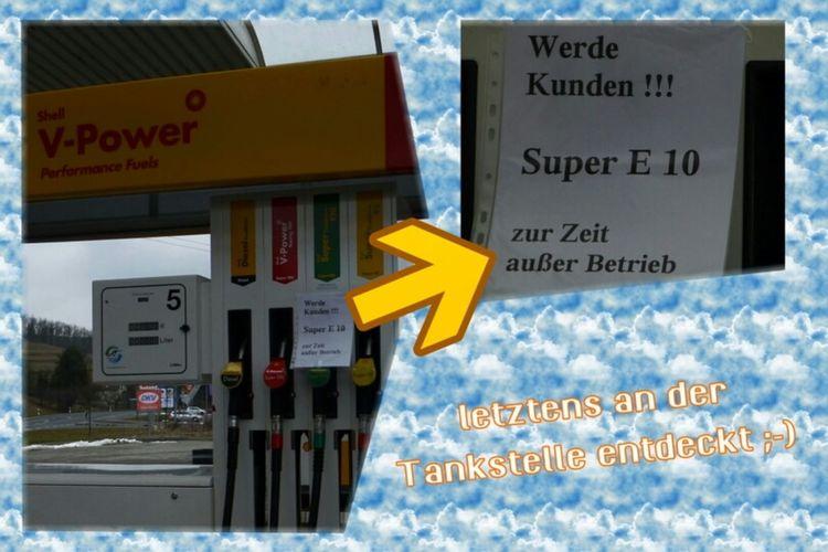 Tankstelle Thueringen Spaßbilder