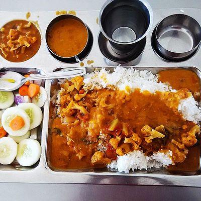 Lunch @iith Mess_Food Iith Food HostelFood Salad