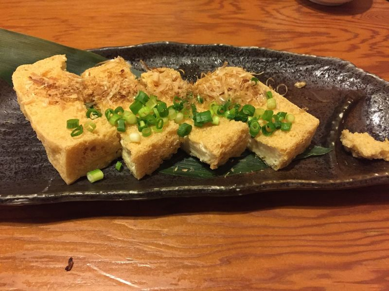 Food Food And Drink Japanese Food Okinawan Foods Plate Table Tofu