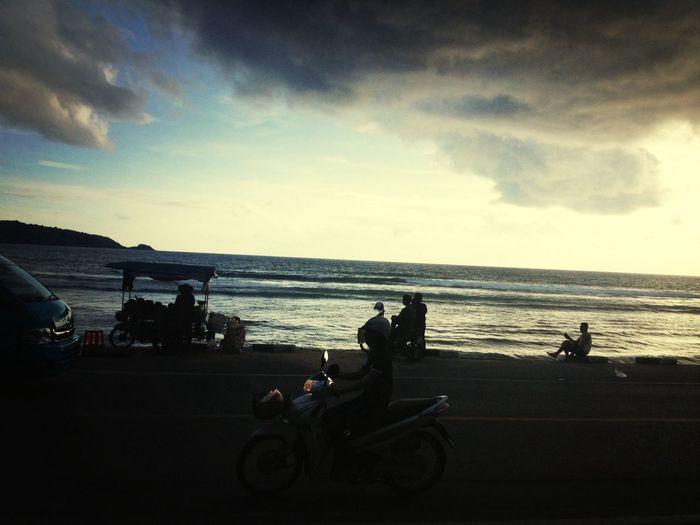 Finally reached :) Phuket Beach Sunset Holiday