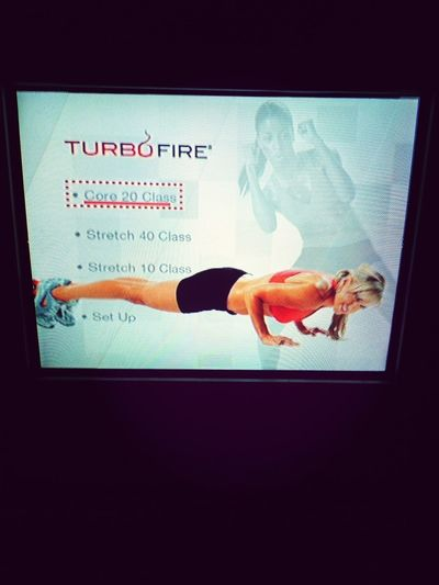 Workout Turbofire One More Month Until Florida