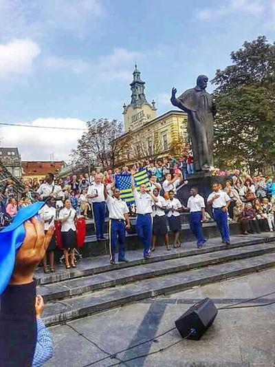 Ukraine L'viv Instrumental Vocal Ensemble Us Army Concert Streetphotography Fresh Scent Hello World