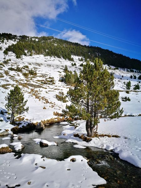 Landscape Snow Water No People Outdoors Nature Beauty In Nature Mountain Range Wilderness Andorra🇦🇩 Perspectives On Nature