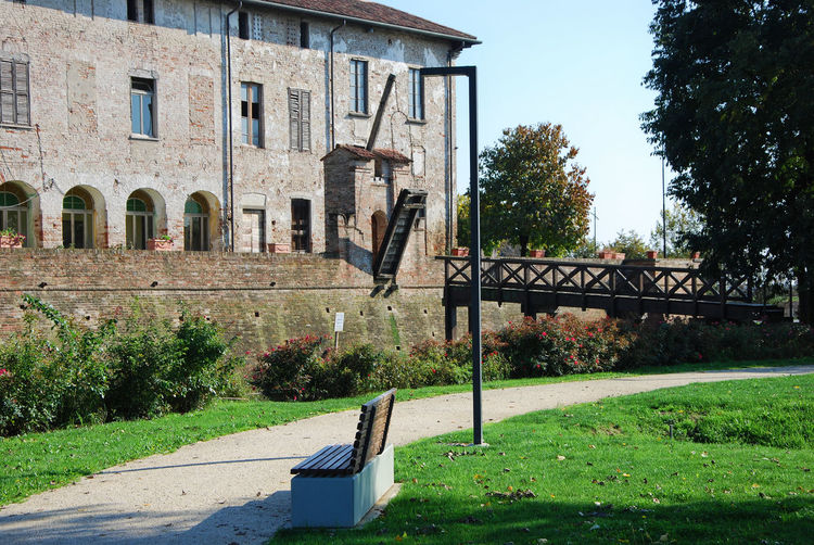 Castle of Pagazzano, Bergamo, Lombardy, Italy. Bergamo European  Italia Lombardy Pagazzano Castle Travel Architecture Building Exterior Built Structure Europe Front Or Back Yard History Italian Italy Lombardia Old Outdoors Pagazzano Tourism