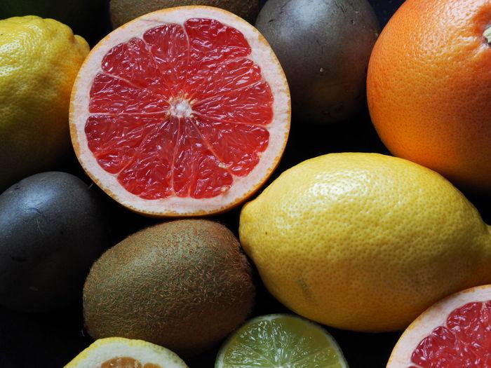Close-up of various fruits