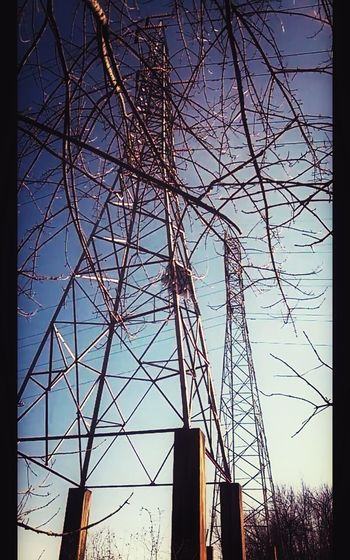Twin Towers No People Mother Vs Nature TreePorn Electr⚡️cal L❤️ve Darkness And Light Human Meets Technology Teszars Woods