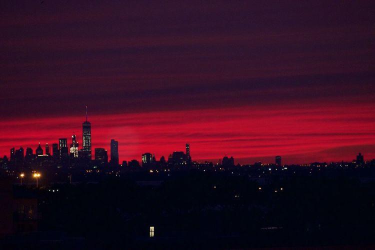 NYC Sunset First Eyeem Photo