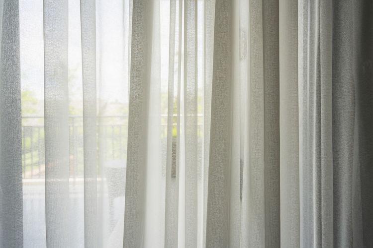 Full frame shot of curtains