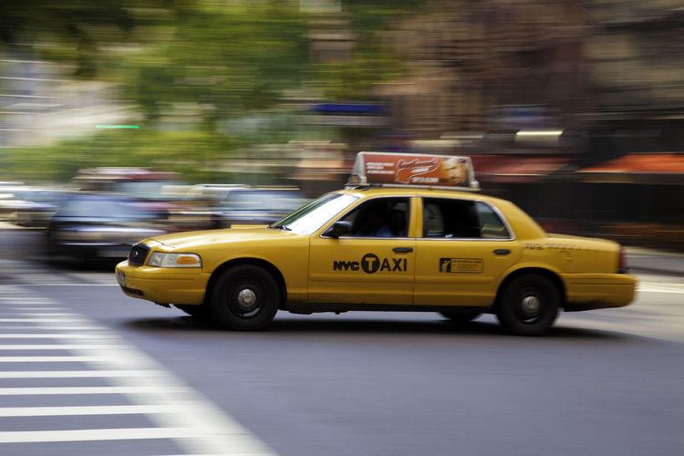 Yellow Cab Car