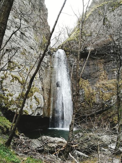 Tree No People Nature Outdoors Water Beauty In Nature Landscape Waterfall Waterfall In Mountain Canyoning