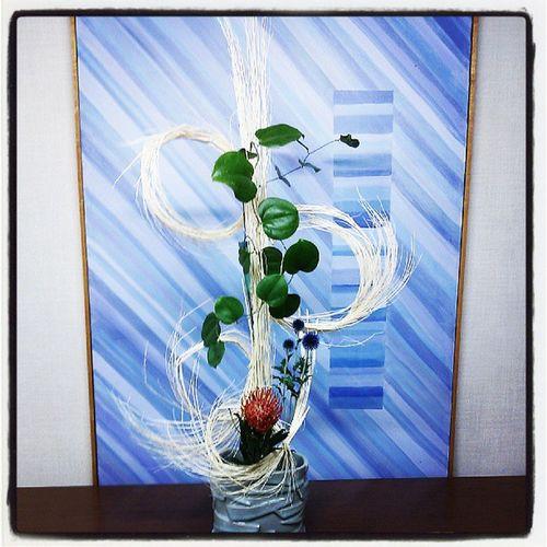 生け花 花 華道 フラワーアレンジメント flowerarrangement fleurs flowers flower ikebana japanesestyle japaneseart japan photooftheday instalike instagrm