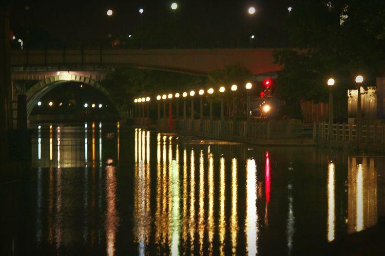 Rideau Canal at Mackenzi King Bridge. Ottawa Canada