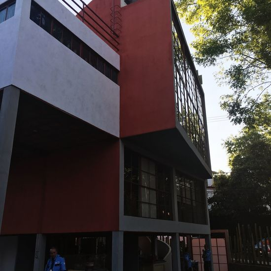 Architecture Building Exterior Built Structure Outdoors City Day Low Angle View Modern Tree No People Sky Frida Diego