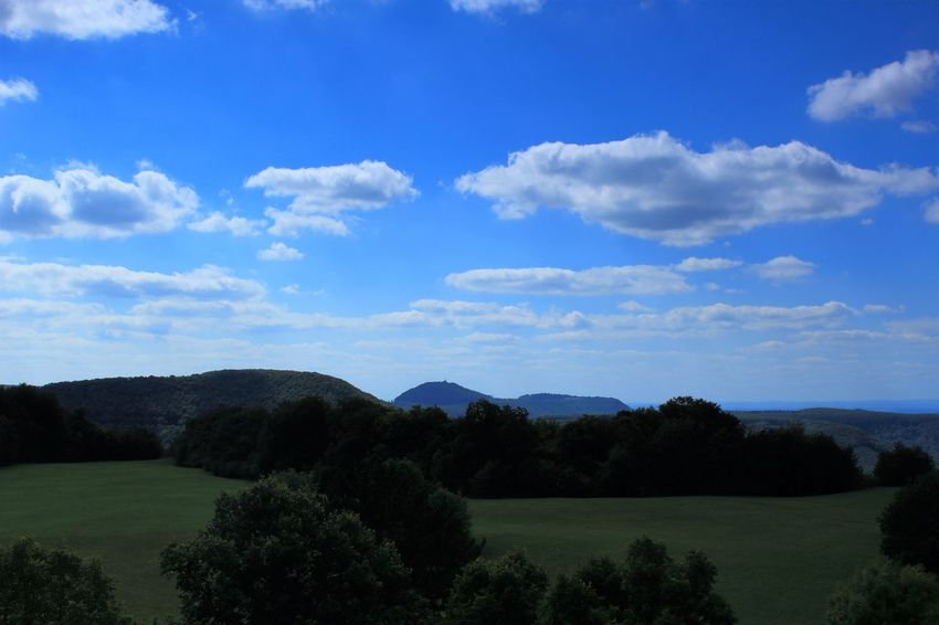 Beauty In Nature Blue Day Field Growth Landscape Nature No People Outdoors Scenics Schwäbische Alb Sky Tranquility Tree