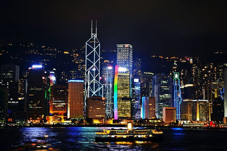 Hong Kong Skyline First Eyeem Photo