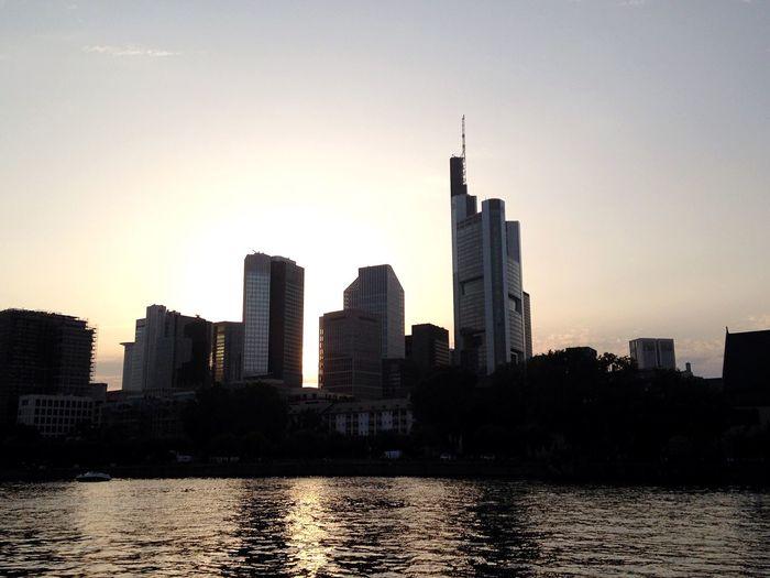 Skyline Ffm City Landscape The Purist (no Edit, No Filter)