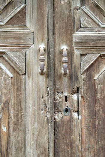 the door Wood -
