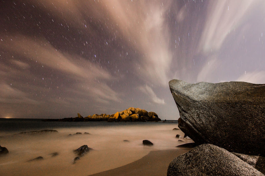 Astronomy Beach Beauty In Nature Giantrocks Horizon Over Water Landscape Long Exposure Milky Way Milkyway Nature Night Nightphotography Sand Scenics Sea Sea And Sky Sky Space Space And Astronomy Star - Space Tourism Tourist Attraction  Tourist Destination Travel Destinations Winter
