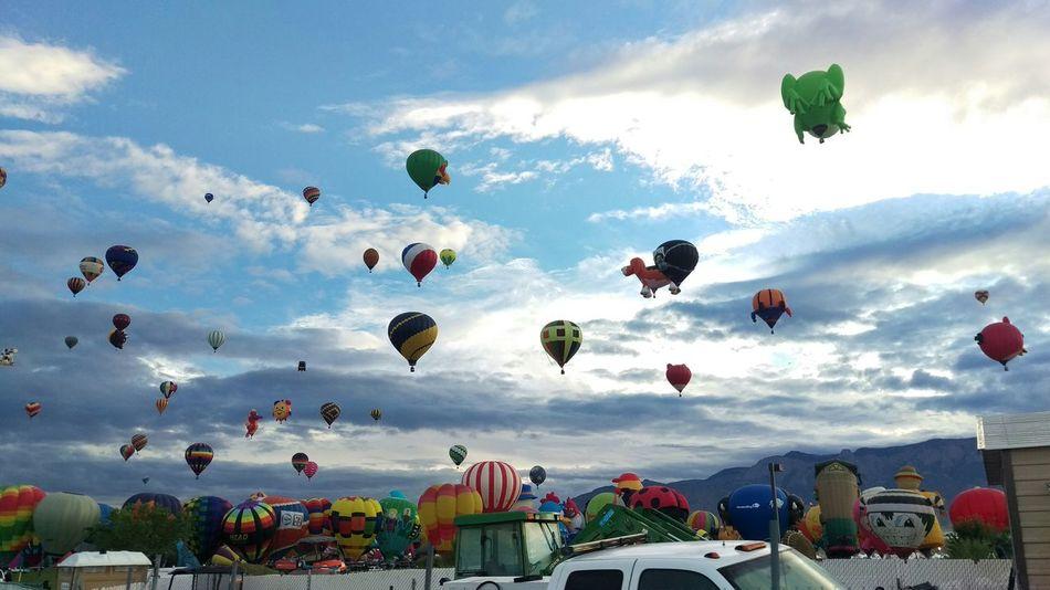 Balloonfiesta  Abqphotos Albuquerqueballoonfiesta Newmexico Check This Out Taking Photos