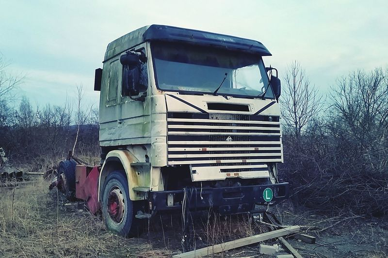 Forgotten Things Forgotten Wasteland Trucks Truckart Old Car Old Oldie  Old Truck Scania Lostpower Dead Scrap Metal Scrapyard Schrott Vergessenerort First Eyeem Photo