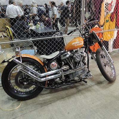 Yokohama hotrod custom show 2013 Hcs2013 Harleydavidson Panhead Chopper bobber