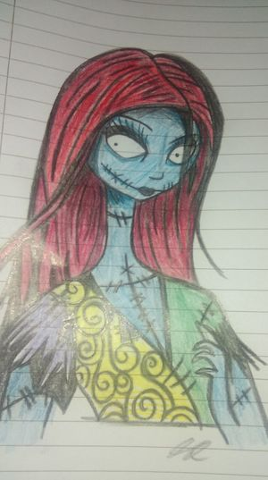 Colour Version TheNightmareBeforeChristmas Sally