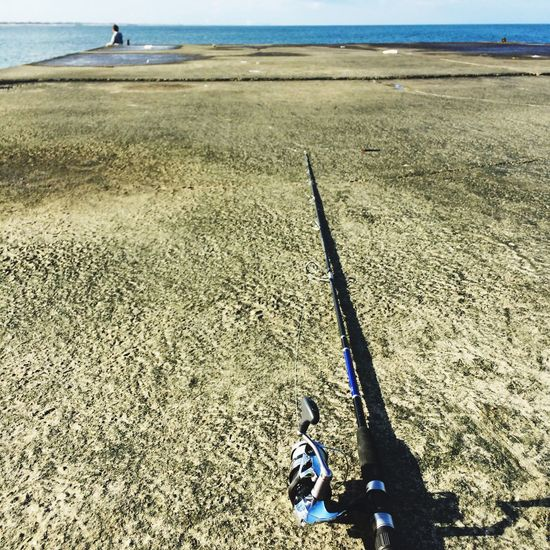 IPhoneography Fishing Sea 休憩中?