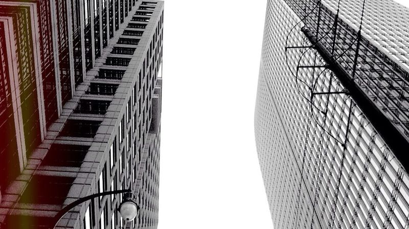 View from the sunroof. City Blackandwhite Look Up And Thrive Light And Shadow