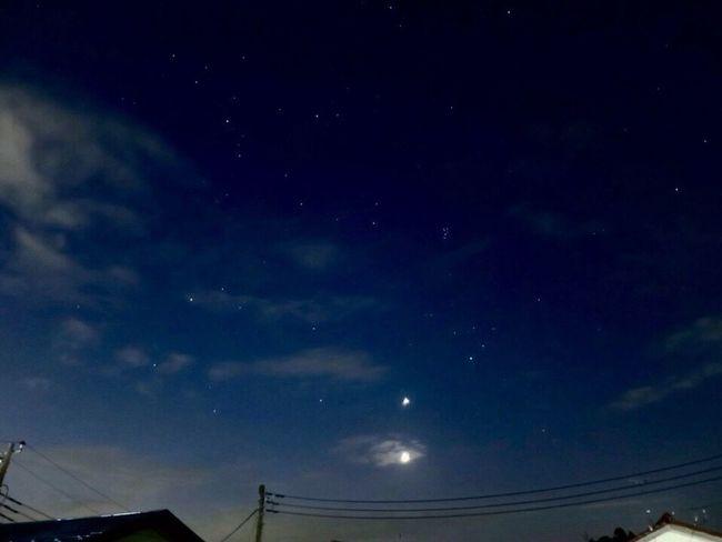Canon S120 夜明け前 Star Moon