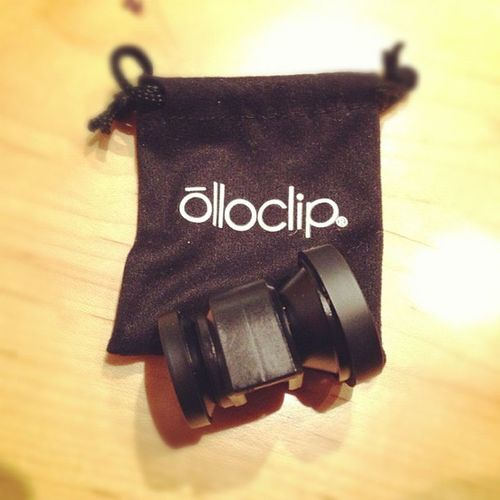 I got an olloclip #olloclip Olloclip