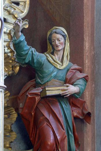 Saint Ann Altar Ann Art Belief Christianity Church Croatia Faith Holy Patron Religion Religious  Saint Sculpture Spiritual Spirituality Statue Worship