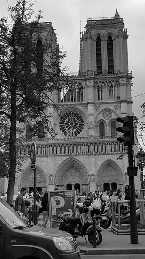 saint michel notre dam Architecture Building Exterior Built Structure Façade Outdoors People Travel Destinations Real People Day Adults Only Tree Adult City Only Men Sky First Eyeem Photo The Architect - 2017 EyeEm Awards The Architect - 2017 EyeEm Awards