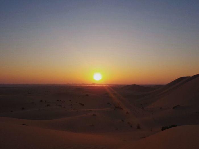 Abu Dhabi Emirates Peace And Quiet Nature Sun Tranquil Scene