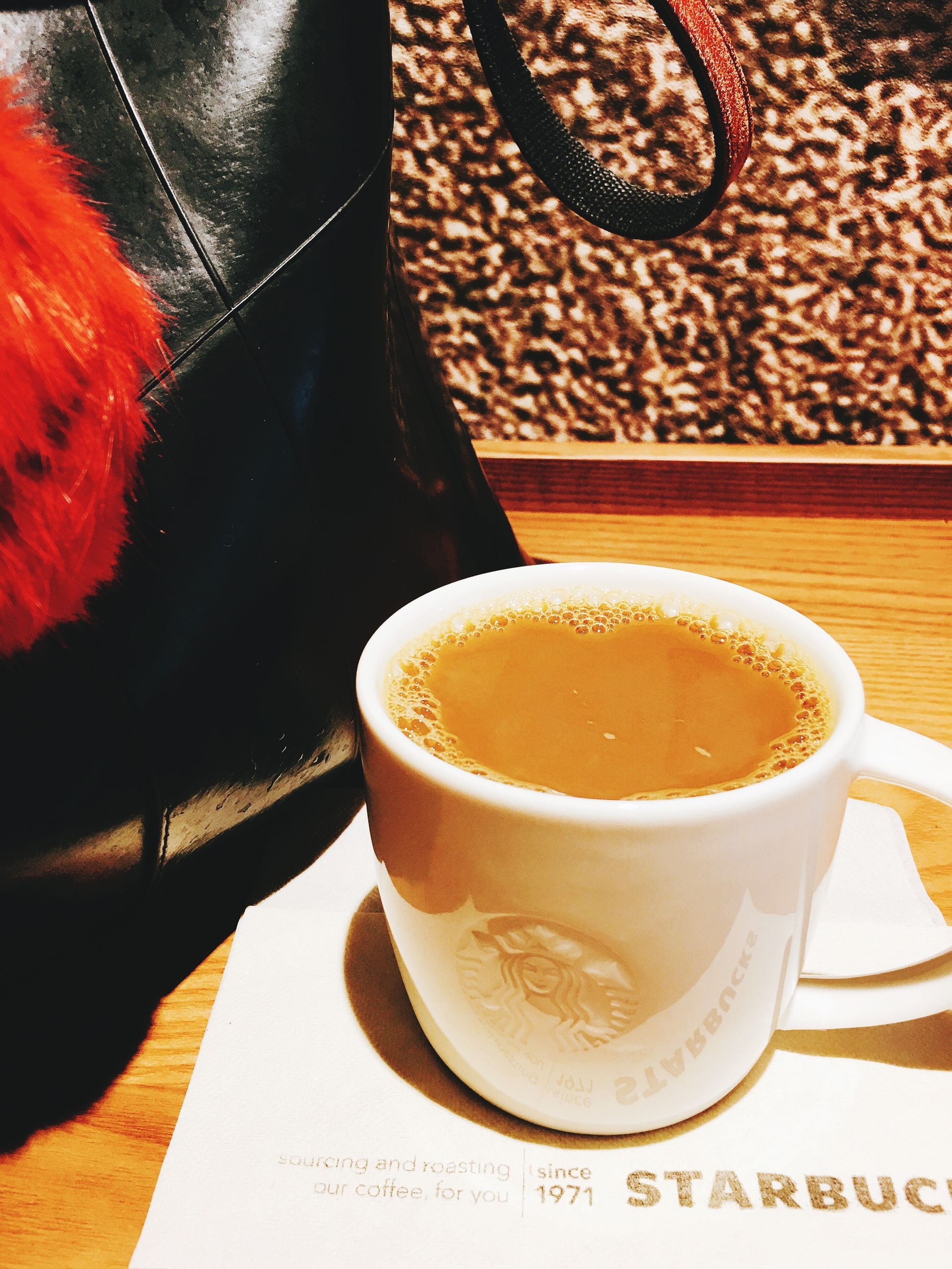 drink, coffee - drink, coffee cup, table, cappuccino, food and drink, frothy drink, cup, refreshment, espresso, indoors, freshness, drinking glass, froth art, no people, close-up, latte, ready-to-eat, day