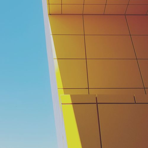 Yellow Architecture Built Structure No People Day Outdoors Clear Sky Building Exterior Sky Close-up Canon 5d Mark Iv EyeEm Popular Sound Of Life Lifestyle Live For The Story Summerfeeling Summervibes Summer Architecture Ikea Design