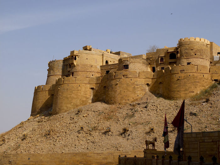 India Jaisalmer Fort Jaisalmer City Travel Traveling Landscape Built Structure Architecture Wall Rajasthan