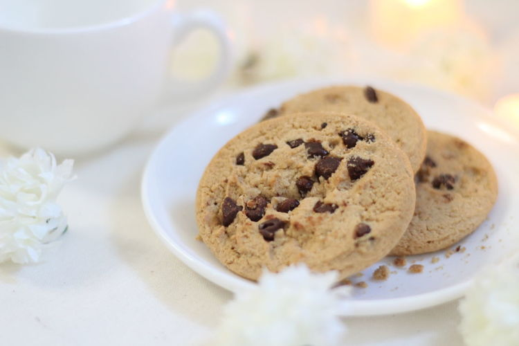 Chocolate Chip Cookies Cookies Chocochip Dessert Food Food And Drinks Celebration Plate Cake Table Cookie Drink Dessert Raisin Christmas Chocolate Chip